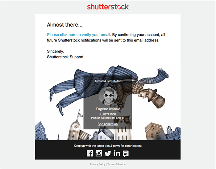 How do I sign up to become a Shutterstock contributor?