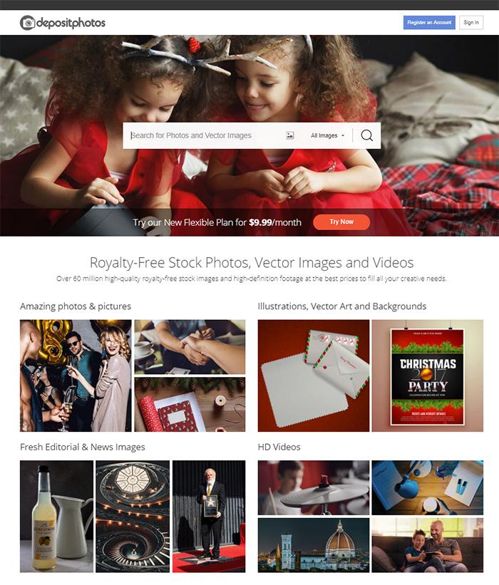 Фотобанк Депозитфотос регистрация автора для продажи фотографий, видео и векторных иллюстраций.