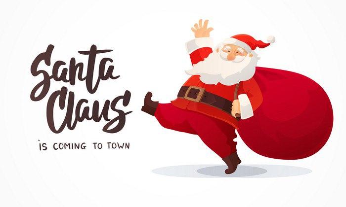 Санта Клаус. Купить Иллюстрацию. Интервью с микростоковым иллюстратором Ольгой Лебедевой.