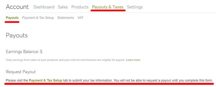 Заполнение налоговой формы W-8BEN на микростоке Creative Market. Инструкция.