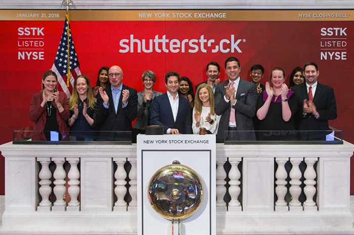 Shutterstock продал миллиард лицензий.