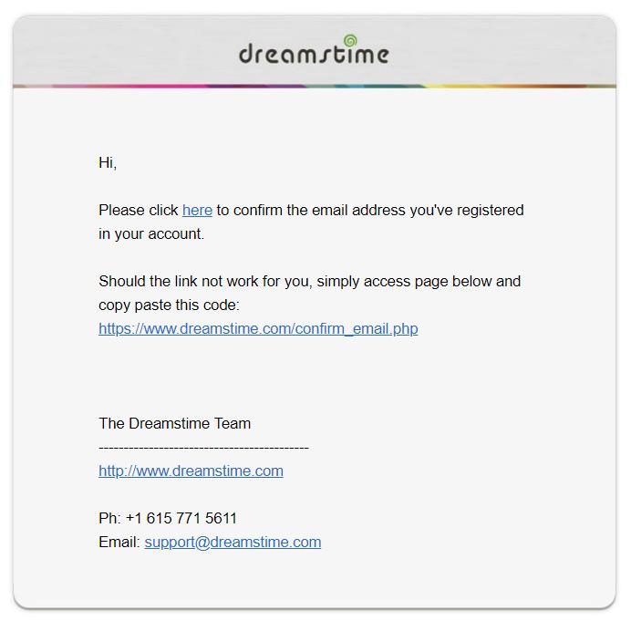 Как бесплатно скачать изображения с микростока Dreamstime.com. Регистрация аккаунта.