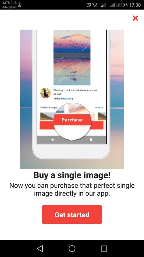 Купить одну фотографию на Shutterstock. Теперь реально!