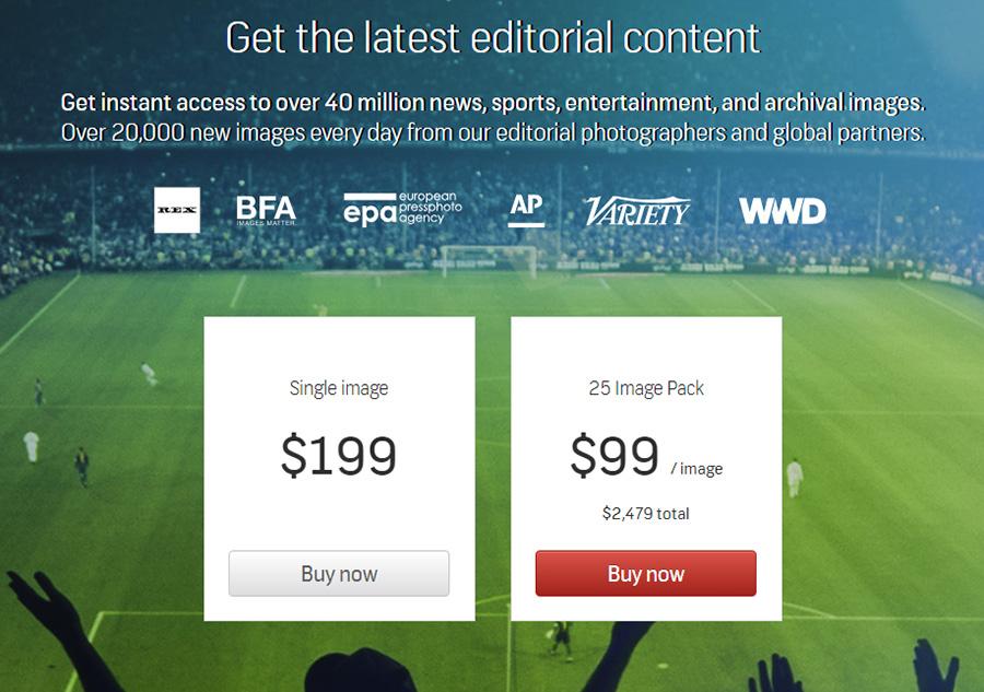 Shutterstock Premier вводит новые пакеты для редакционных изображений.
