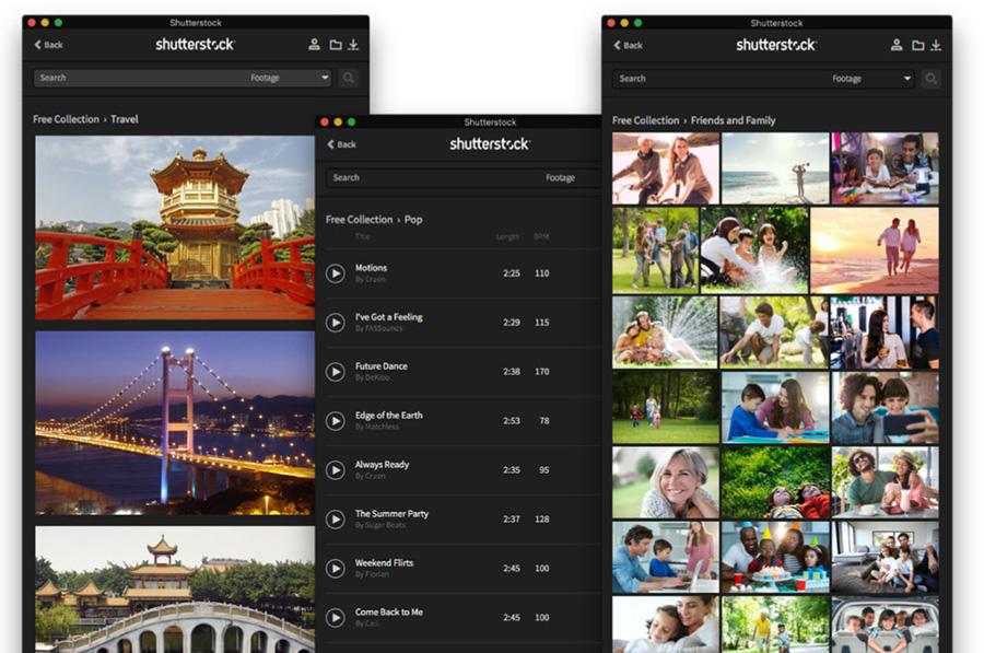 Final Cut Pro X дебютировал с новым расширением от Shutterstock.
