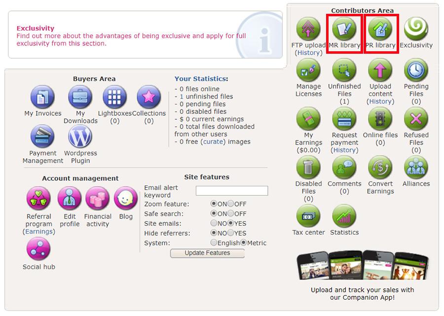 Как загрузить Релиз модели и Релиз собственности на Dreamstime.com. Инструкция.