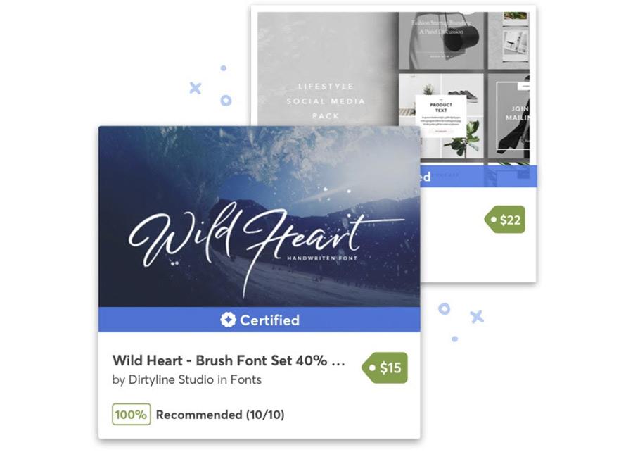 Программа Certified от Creative Market.