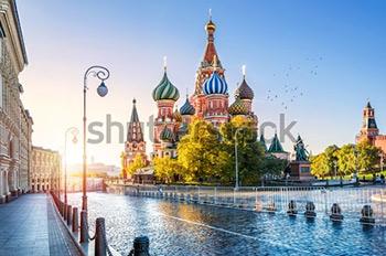 Храм Василия Блаженного. Купить фотографию в высоком разрешении