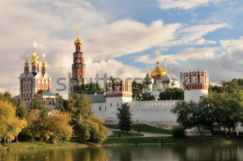 Новодевичий монастырь. Москва. Купить фотографию в высоком разрешении.