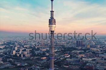 Останкинская телебашня. Москва. Купить фотографию в высоком разрешении.