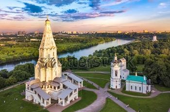 Коломенское. Москва. Купить фотографию в высоком разрешении.