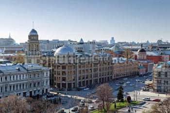 Китай Город. Москва. Купить фотографию в высоком разрешении.