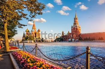 Москва. Кремль. Купить фотографию в высоком разрешении.