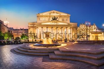 Большой театр. Москва. Купить фотографию в высоком разрешении.