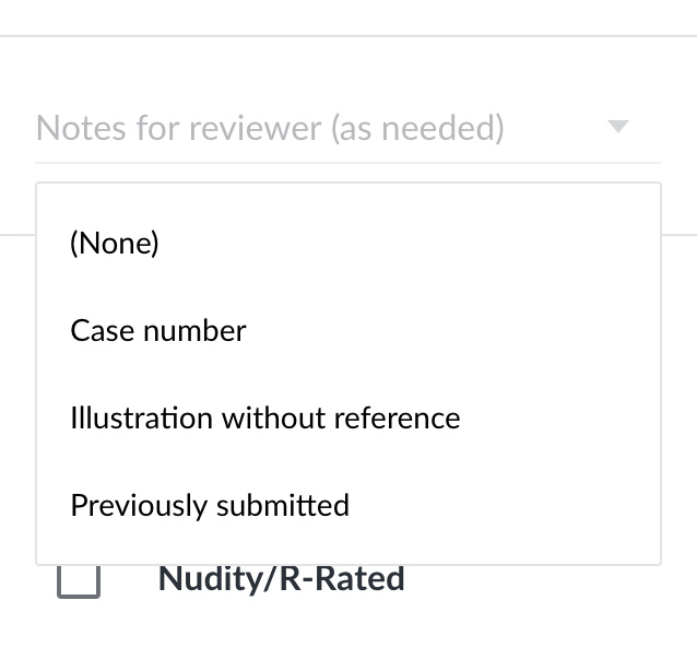 """Как использовать опцию """"Примечание для инспектора"""" на Shutterstock.com?"""
