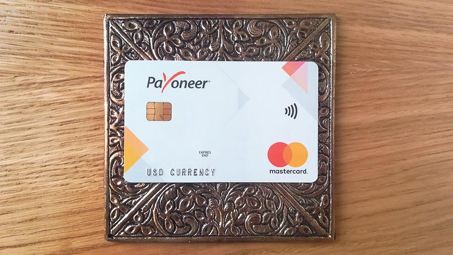 Предоплаченная карта Payoneer (Пионер) от MasterCard.