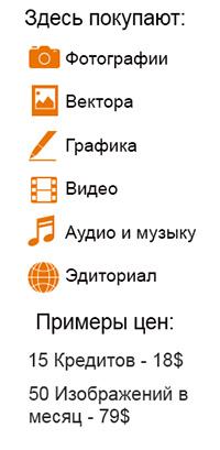 На фотобанке Dreamstime.com можно купить: фотографии, вектора, графику, видео, аудио, музыку и эдиториал. Цены