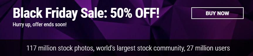 Купить фотографии, иллюстрации, видео и музыку со скидкой 50% на Dreamstime.com. Black Friday!