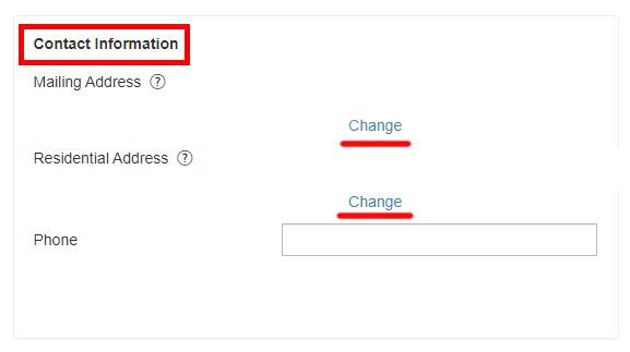 Как изменить адрес проживания в моем аккаунте на Shutterstock.com?