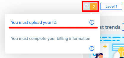 Регистрация Автора на Freepik. Инструкция. Загрузка документа, удостоверяющего личность.