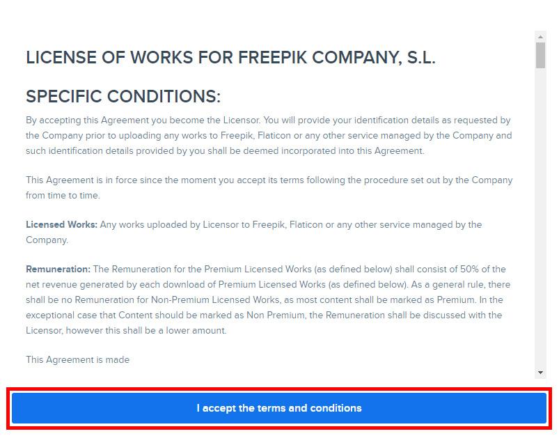 Регистрация Автора на Freepik. Инструкция.