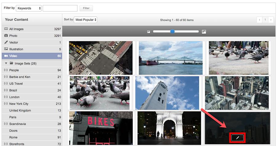 Как отредактировать или удалить видео на Shutterstock.com?