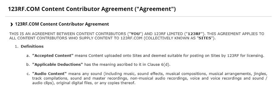 Регистрация автора на 123rf.com. Инструкция.