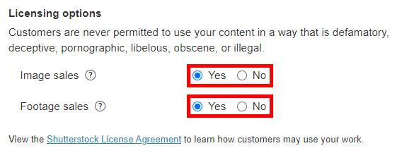 Как сделать мой контент недоступным для скачивания на микростоке Shutterstock?