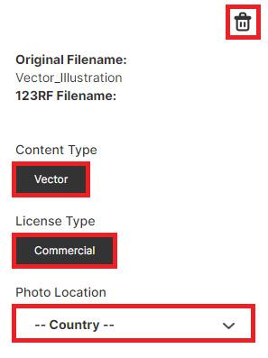 Загрузка векторных иллюстраций в фотобанк 123RF.com. Инструкция.