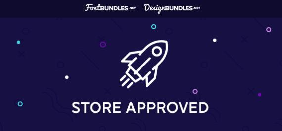 Регистрация Автора на Designbundles. Магазин одобрен.