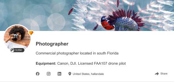 Обновление дизайна авторского профиля на Depositphotos.