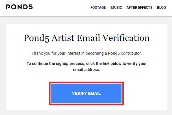 Регистрация Автора на Pond5. Инструкция.