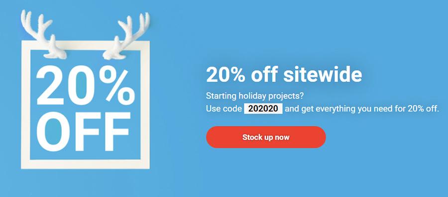 Предпраздничная распродажа от микростока Shutterstock.com: скидка 20% на изображения, видео и музыку.