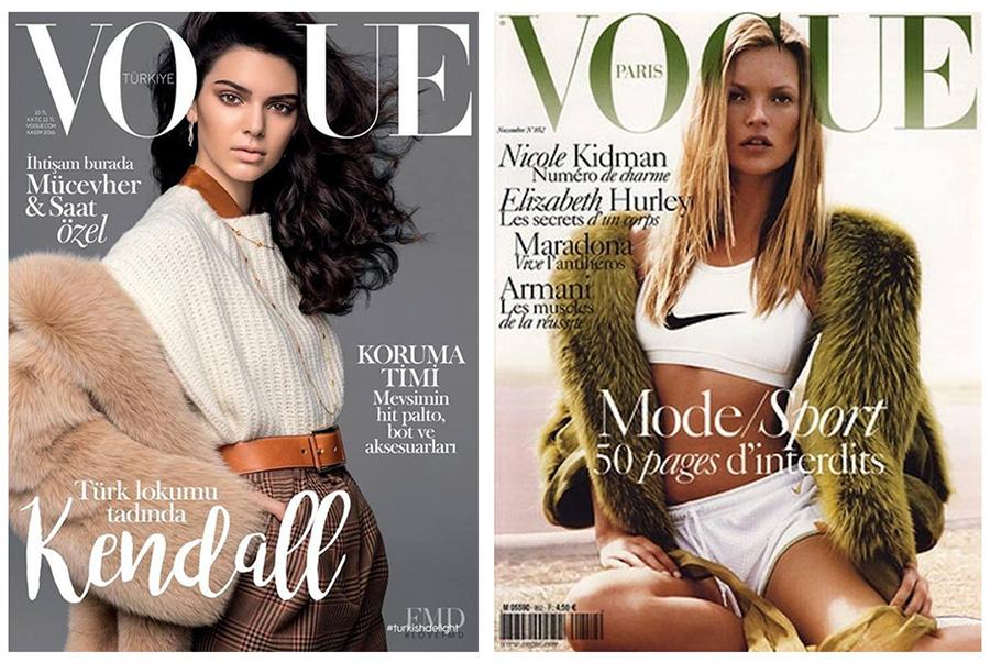 Поиск идей и визуальной составляющей для съемок или рисования. Алгоритм. Обложки журнала Vogue.