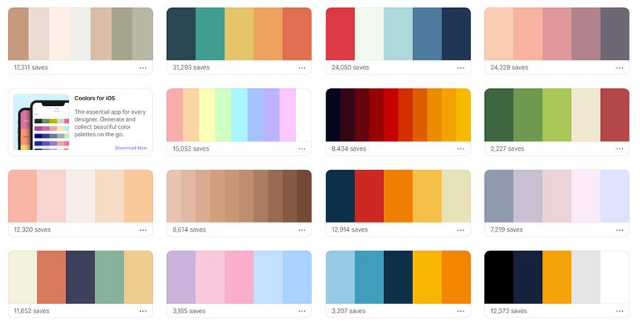 Сервисы для работы с цветом. Топ 5. Coolors.Co.