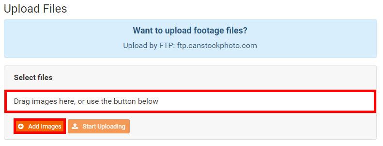 Загрузка фотографий в фотобанк Canstockphoto. Инструкция.