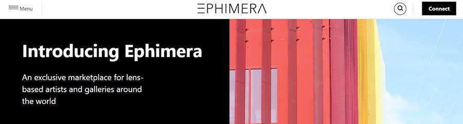 Общие вопросы. NFT маркетплейс Ephimera.com.