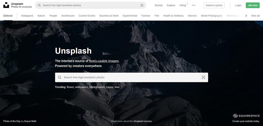Unsplash. 26 Бесплатных фотостоков для дизайнеров и маркетологов. +6 Бесплатных коллекций на коммерческих микростоках.