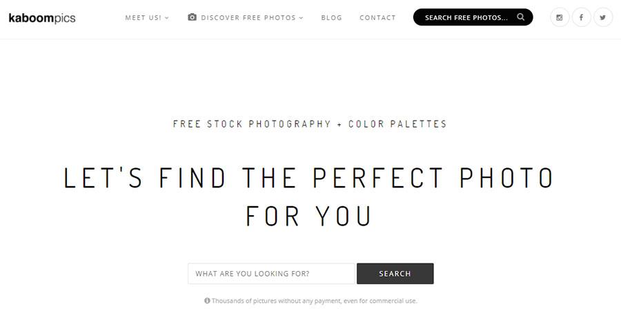 Kaboompics. 26 Бесплатных фотостоков для дизайнеров и маркетологов. +6 Бесплатных коллекций на коммерческих микростоках.