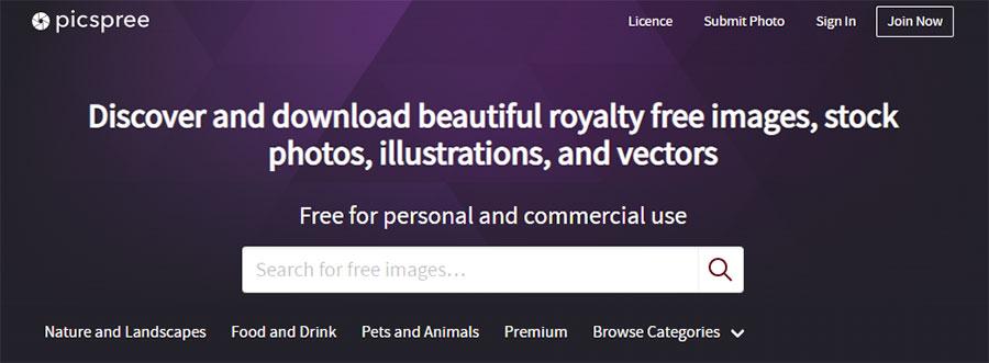 Picspree. 26 Бесплатных фотостоков для дизайнеров и маркетологов. +6 Бесплатных коллекций на коммерческих микростоках.