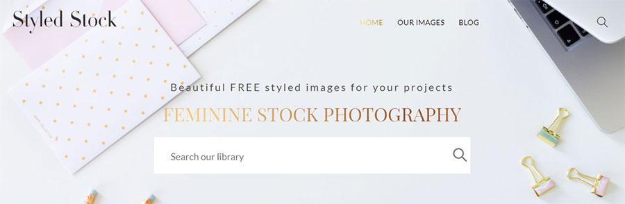 Styledstock. 26 Бесплатных фотостоков для дизайнеров и маркетологов. +6 Бесплатных коллекций на коммерческих микростоках.