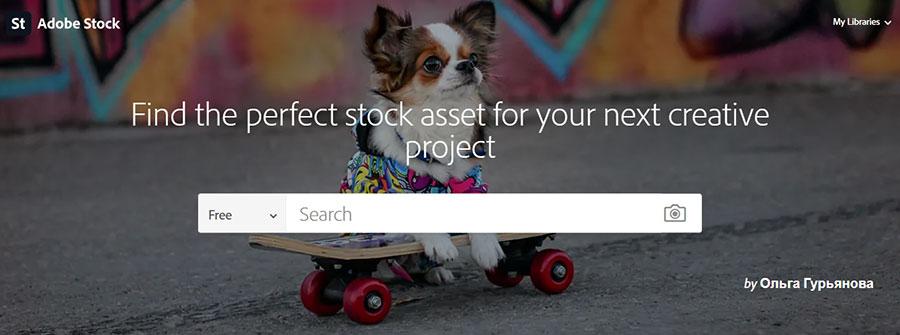 Adobe Stock. Бесплатная коллекция.
