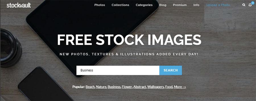 Stockvault. 26 Бесплатных фотостоков для дизайнеров и маркетологов. +6 Бесплатных коллекций на коммерческих микростоках.