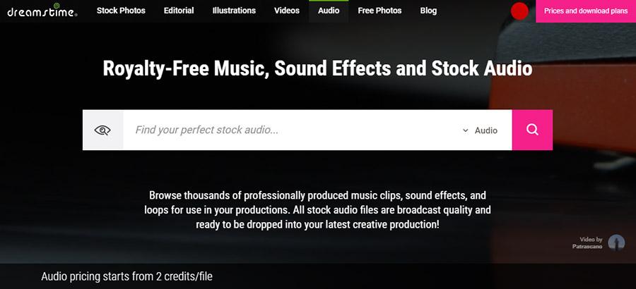 Музыка для видео на YouTube. Как выбрать и где купить? 15 Лучших сайтов. Dreamstime.com.